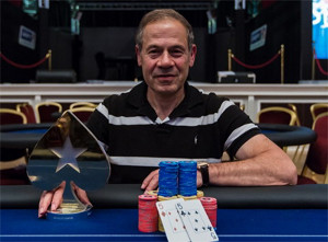 Isai Scheinberg Winning a Poker Tournament