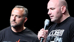 Lorenzo Fertitta and Dana White at Fighter Summit