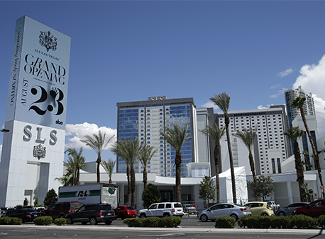 The SLS Las Vegas Hotel and Casino has been purchased by the Meruelo Group