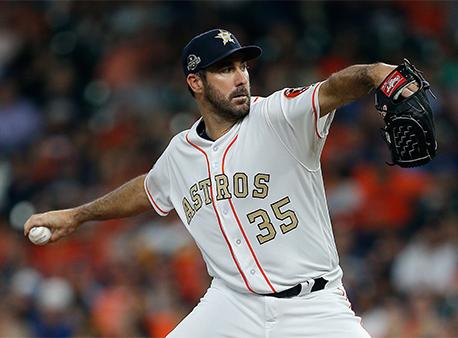 Justin Verlander Houston Astros MLB World Series odds