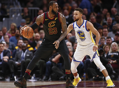 LeBron James Stephen Curry NBA Finals Betting Odds
