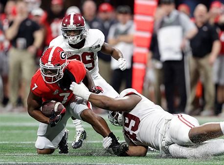D'Andre Swift Georgia Bulldogs NCAA College Football Playoff Betting Odds Futures