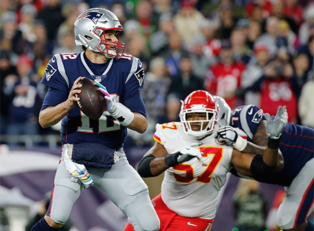 Tom Brady New England Patriots Kansas City Chiefs NFL Betting Week 7