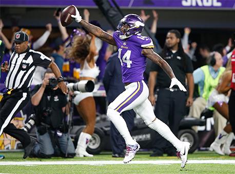 Stefon Diggs Minnesota Miracle Minneapolis Miracle NFL Betting Week 8