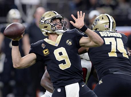 Drew Brees New Orleans Saints NFL Betting Week 13 Games of the Week