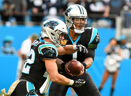 Cam Newton Christian McCaffrey NFL Betting Week 10