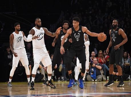 NBA All-Star Game, LeBron James, Giannis Antetokounmpo