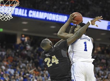Zion Williamson, Duke, NCAA basketball Tournament