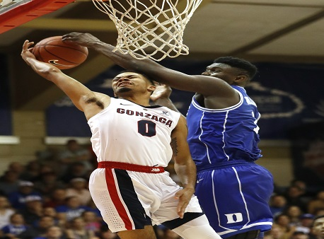 Zion Williamson, Duke, Gonzaga, NCAA Tournament Odds