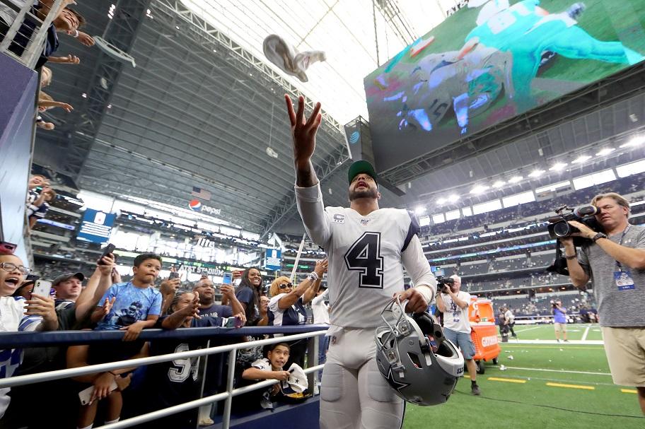 NFL Week 5 betting, Dak Prescott, Dallas Cowboys