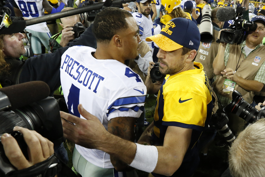 NFL Week 5 odds includes Cowboys/Packers, Saints/Bucs, and Chiefs/Colts.