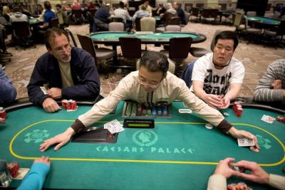 Las Vegas Poker Room Dividers Gone