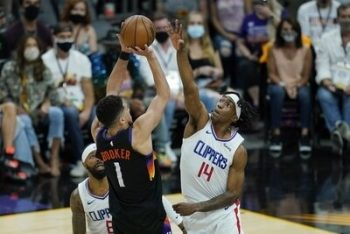 NBA Conference Finals Odds Update   Suns-Clippers   Hawks-Bucks